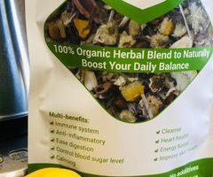 The Wellness Tea – The Best Organic Herbal Blend for a Healthy Life